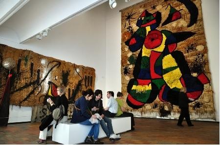 Joan Miró y los indìgenas Wayú  por los niños del Rodrigo