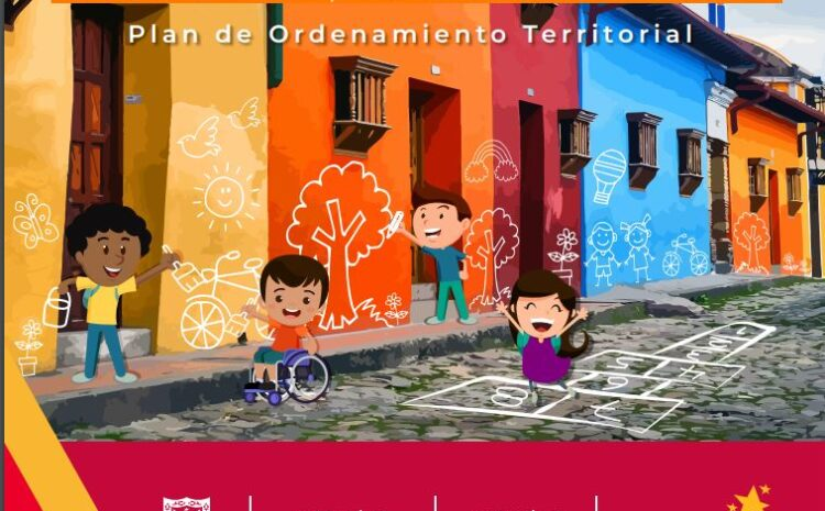Las Niñas, Niños, Adolescentes y Jóvenes participan en la formulación del Plan de Ordenamiento Territorial (POT)